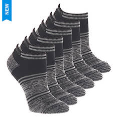 Skechers Women's S116094 Low Cut 6 Pack Socks