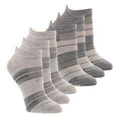 Skechers Women's S112086 Low Cut 6 Pack Socks