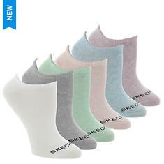 Skechers Women's S116979 No Show 6 Pack Socks