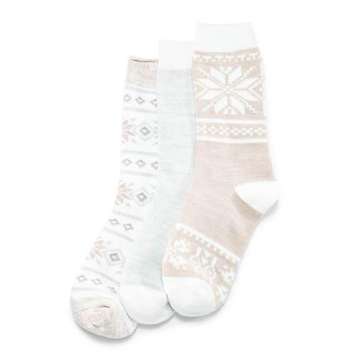 Boot Socks 3-Pack by MUK LUKS®