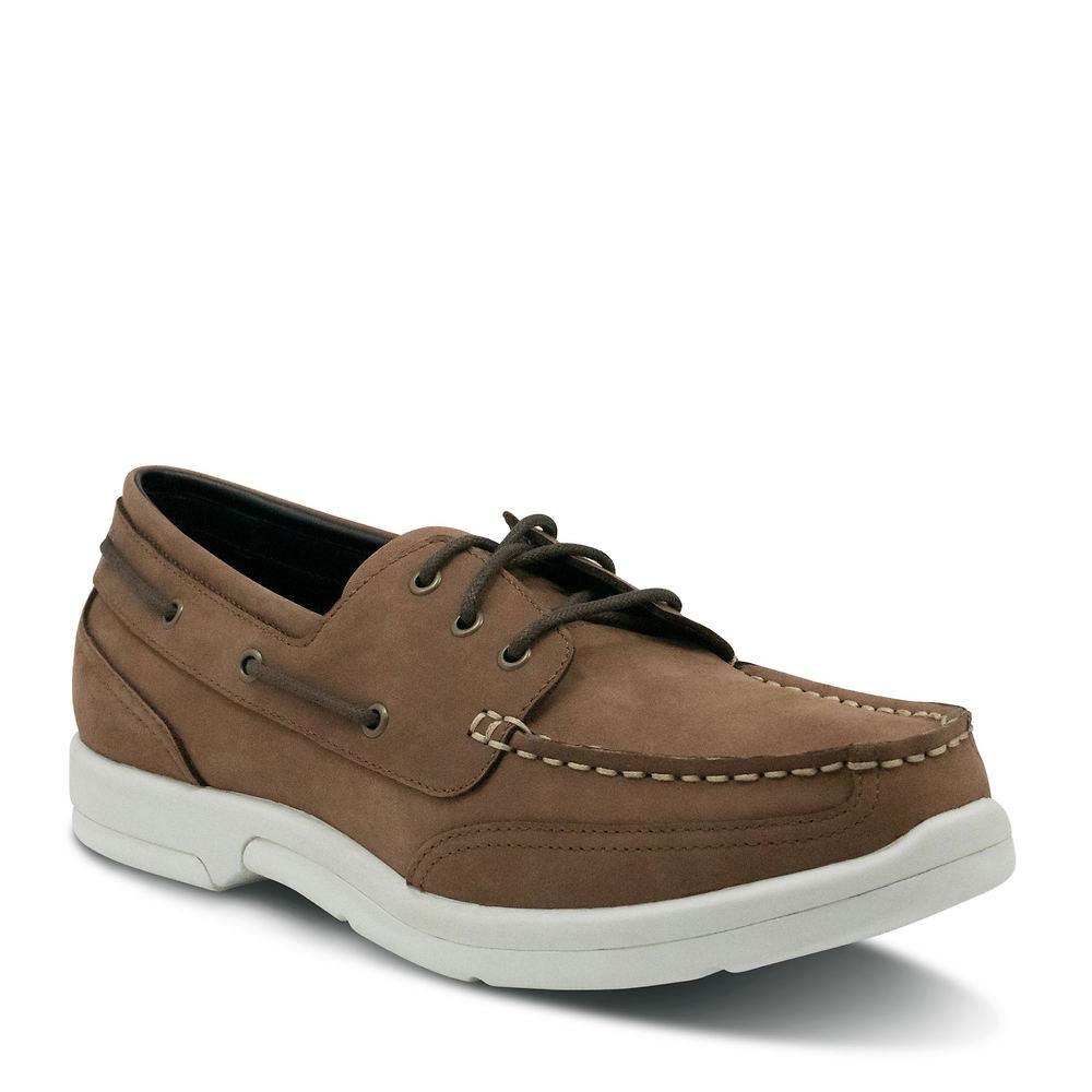Apex Orthopedic Boat Shoe Men's Brown Slip On 11.5 XW