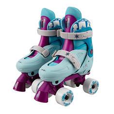 PlayWheels Kids' Adjustable Roller Skates 1-4