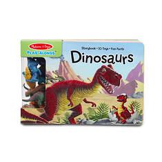 Melissa & Doug Play Along Book - Dinosaurs