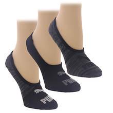 PUMA Women's P116655 No Show Liner 6 Pack Socks