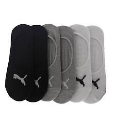 PUMA Women's P116259 Liner 6 Pack Socks