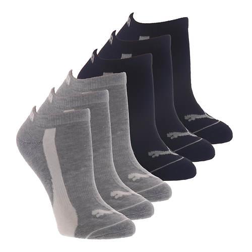 PUMA Women's P116391 Low Cut 6 Pack Socks