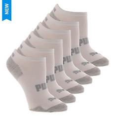PUMA Women's P116691 No Show 6 Pack Socks