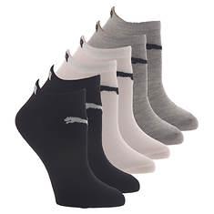 PUMA Women's P116389 Low Cut 6 Pack Socks