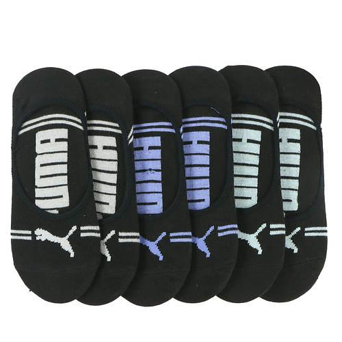 PUMA Women's P116260 Liner 6 Pack Socks