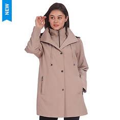 Fleet Street Women's Raglan Sleeve Button Out Jacket