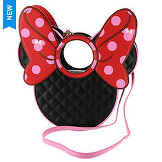 Loungefly Minnie Mouse Quilted Bow Crossbody Bag