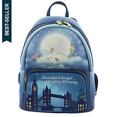 Loungefly Peter Pan Glow in the Dark Backpack