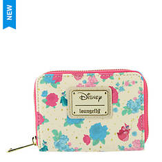 Loungefly Sleeping Beauty Floral Fairy Godmother Zip Around Wallet