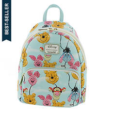 Loungefly Winnie the Pooh Balloon Friends Mini Backpack