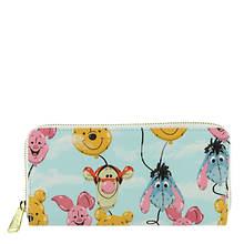 Loungefly Winnie the Pooh Balloon Friends Zip Around Wallet