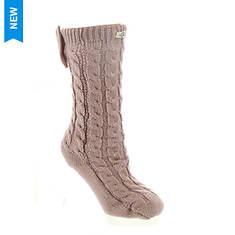 UGG® Laila Bow Fleece Lined Sock