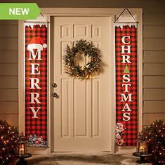 2-pc. Merry Christmas Banners