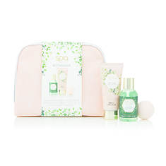 Cosmetic Bag Spa Botanique 4 Pc Set