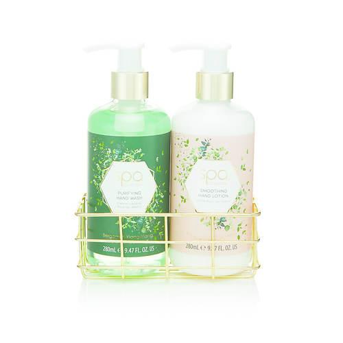 Style + Grace Botanique Luxury Hand Care Spa 3-Piece Set