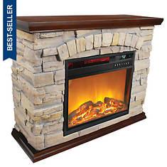 Lifesmart Polystone Fireplace Heater