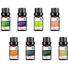 Pursonic Pure Essential Aroma Oils 8-Pack