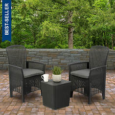 National Outdoor Living Swansea Collection Chat Set