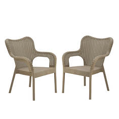 National Outdoor Living Dorset Stacking Chairs