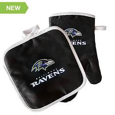 NFL Team Oven Mitt & Potholder Set