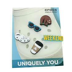 Crocs™ Weekend Relax 5-Pack (Unisex)