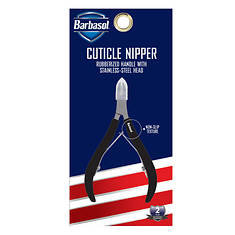 Barbasol Stainless Steel Cuticle Nipper With Non-Slip Grip
