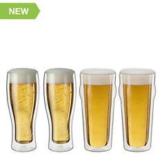 J.A. Henckels Sorrento 4-Pc Beverage Glass Set
