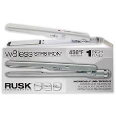 Rusk W8less Str8 Iron Ceramic & Tourmaline Flat Iron