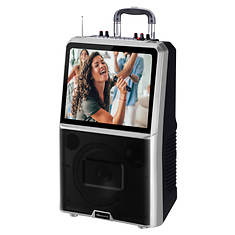 "SuperSonic 15"" Touchscreen Karaoke System"