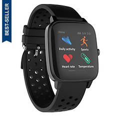 SuperSonic Bluetooth Smartwatch With Heart Rate & Temp