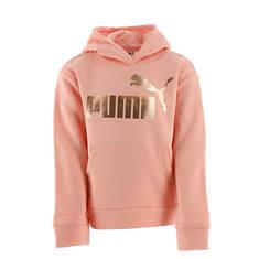 PUMA Girls' #1 Logo Pullover Hoodie