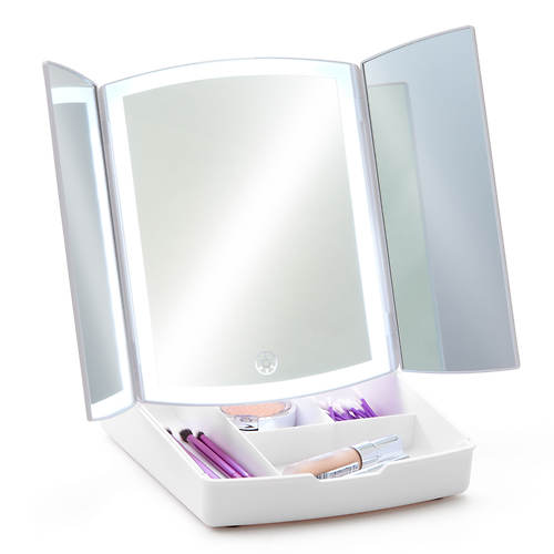 Vanity Mirror with Tray
