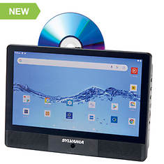 """Sylvania 10"""" Tablet and DVD Player Combo"""