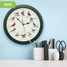 Feldstein 25th Anniversary Limited Edition Singing Bird Clock