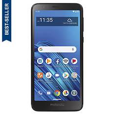 """Motorola Tracfone Moto E6 5.5"""" Prepaid Smartphone"""