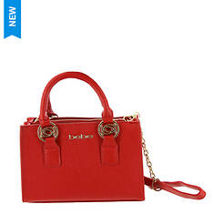 Bebe Sarah Mini Satchel Crossbody Bag
