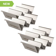 Taco Tuesday Stainless Steel 4-Piece Taco Holder