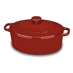 Cuisinart Cast Iron 5.5-Quart Oval Casserole