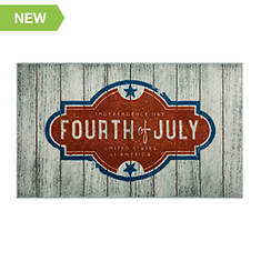 """Mohawk Home Fourth Of July 2'6""""x4'2"""" Rug"""