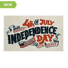 """Mohawk Home Independence Day 2'6""""x4'2"""" Rug"""