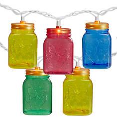 Northlight 10-Count Mini Mason Jar Light Set