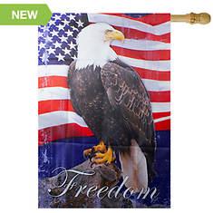 Northlight Freedom Eagle Patriotic House Flag
