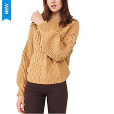 Free People Women's Dream Cable Crew
