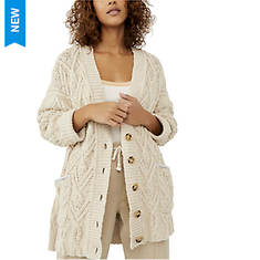 Free People Women's Montana Cable Cardi