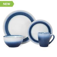 Pfaltzgraff Eclipse Blue 16-Piece Dinnerware Set