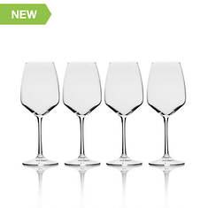 Mikasa 4-Piece Melody 15-Oz. White Wine Glass Set